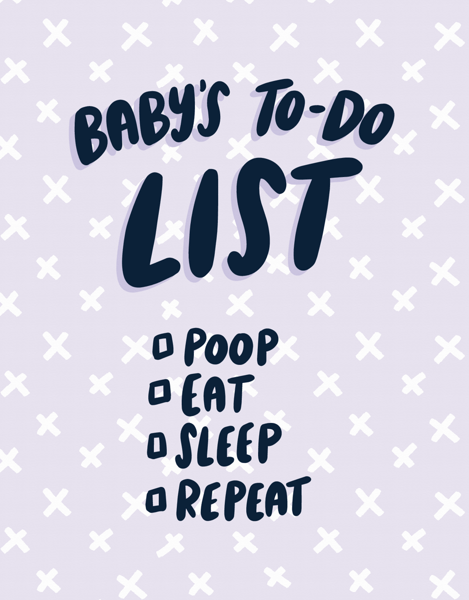 Baby's To-Do List