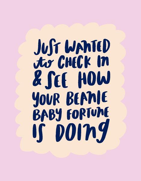 Beanie Baby Fortune