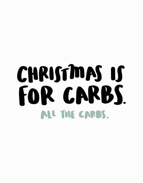 Christmas Carbs