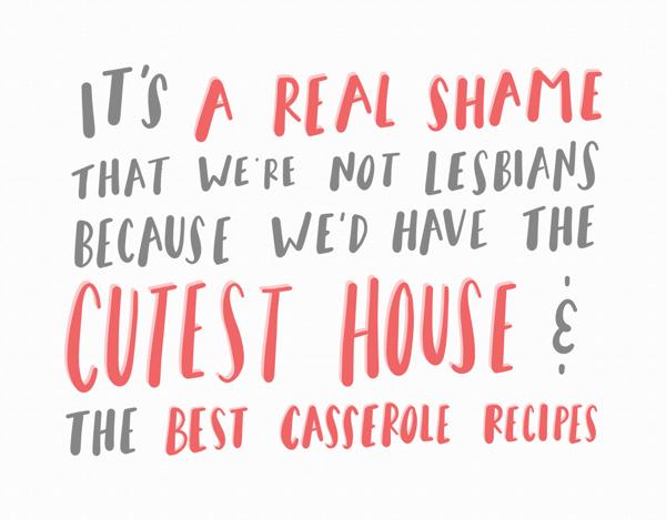 Not Lesbians