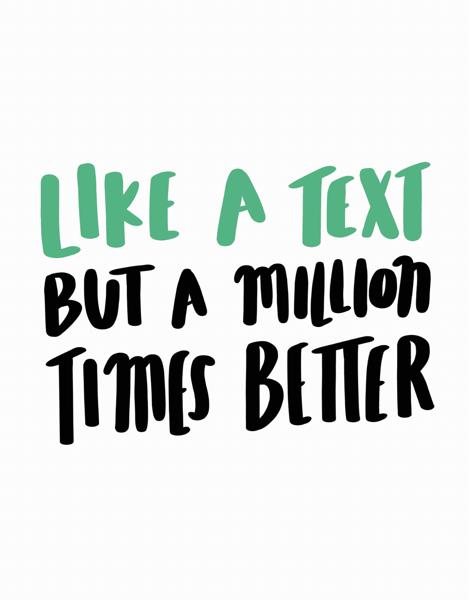 Like A Text