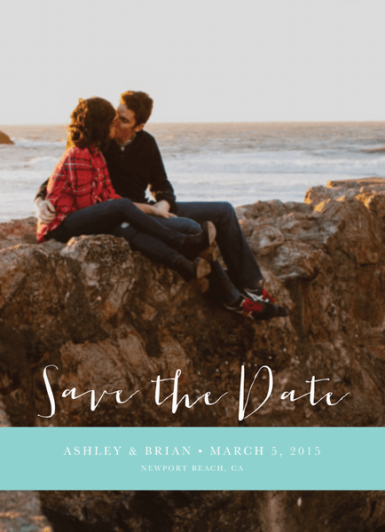 Ocean Save the date