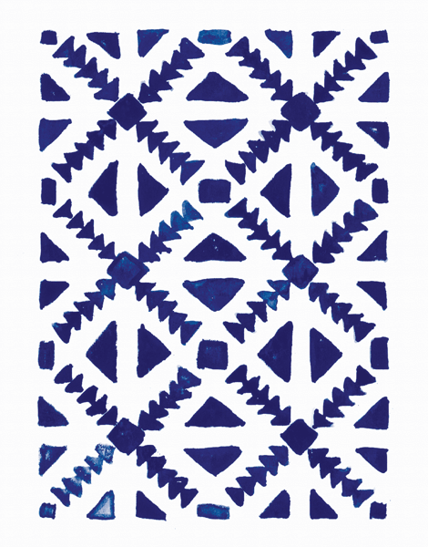 Moroccan Pattern Greeting Card