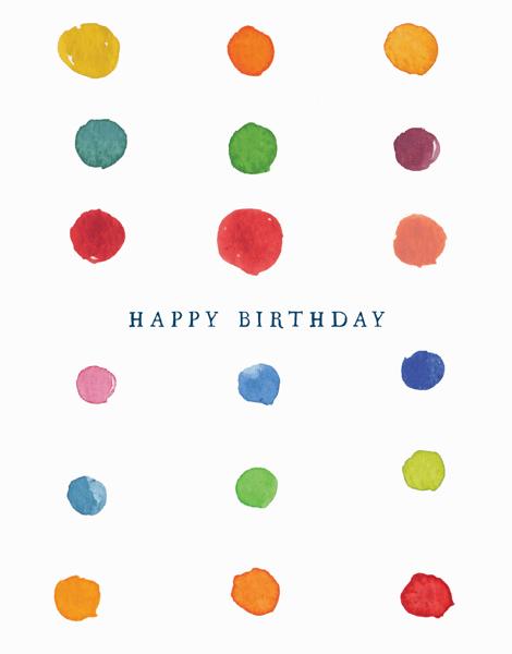 Birthday Dots