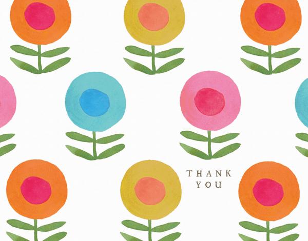 Happy Flower Thanks