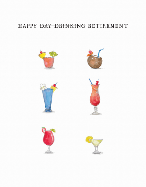 Retirement Drinks