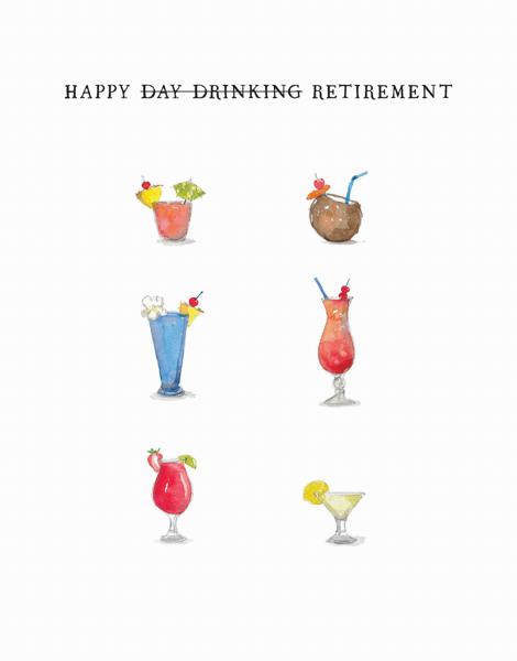 Retirement Drinks