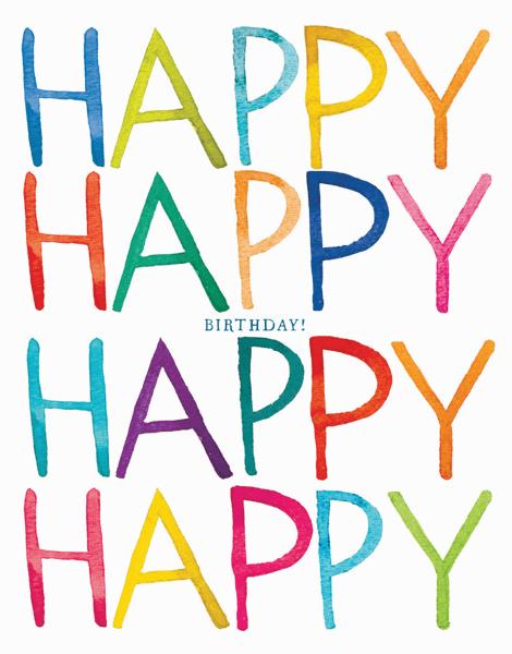 Really Happy Birthday