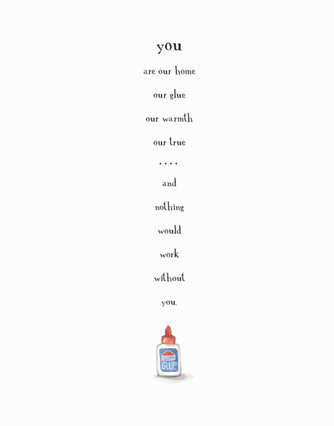 You're The Glue