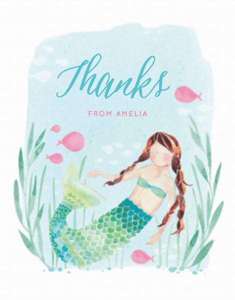 Under The Sea Thank You