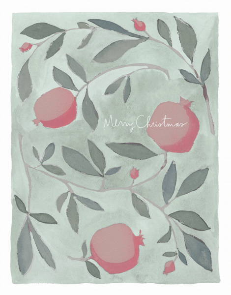 Christmas Pomegranates