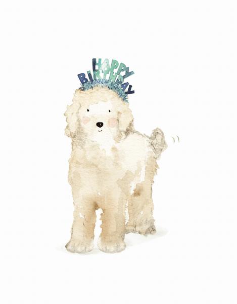 Lucy Dog Birthday