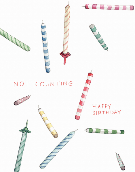 Not Counting Candles