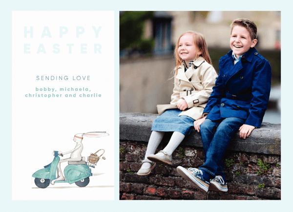 Easter Moped