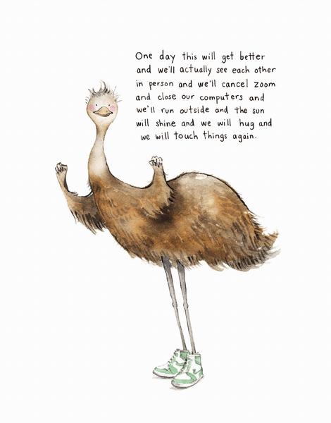 Encouraging Emu