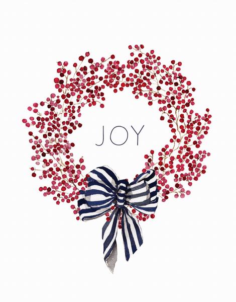 Red Berry Joy Wreath