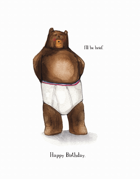 Brief Birthday