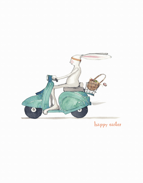 Easter Moped