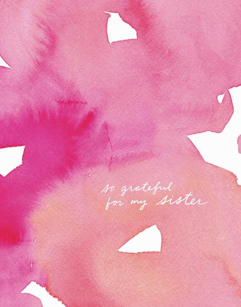 Sister Gratitude