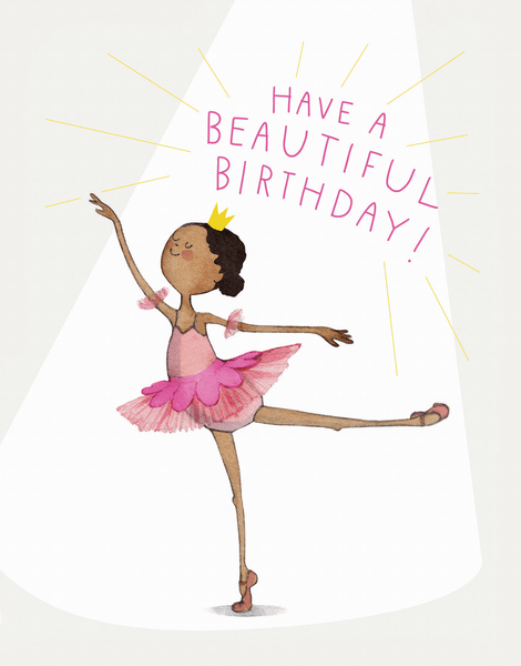 Birthday Ballerina
