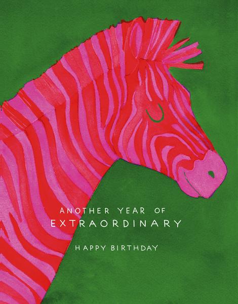 Extraordinary Zebra