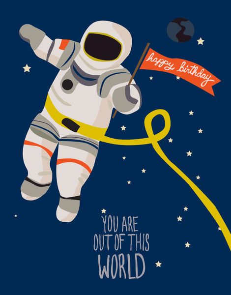 Space Birthday