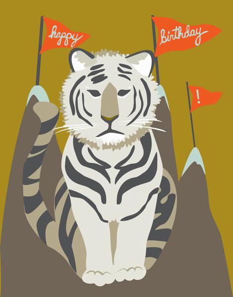 Tiger Birthday