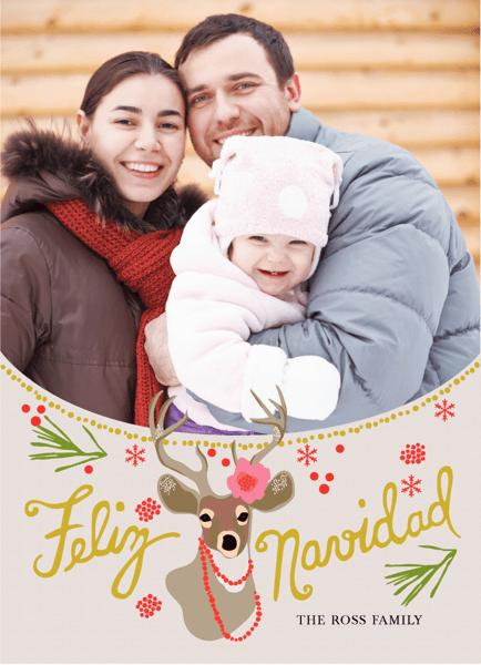 Feliz Navidad Deer