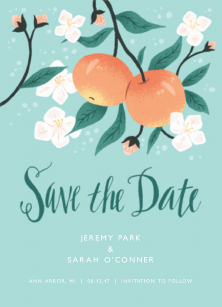 Apple Save The Date