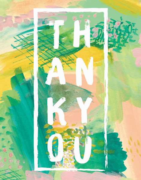 Abstract Thank You