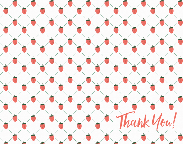 Strawberry Thanks