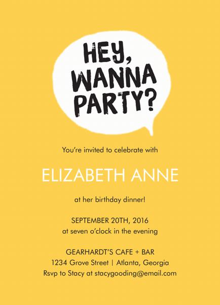 Wanna Party?