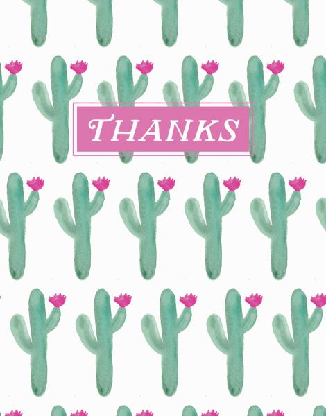 Cactus Thanks