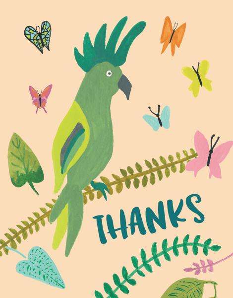 Cockatoo Thanks