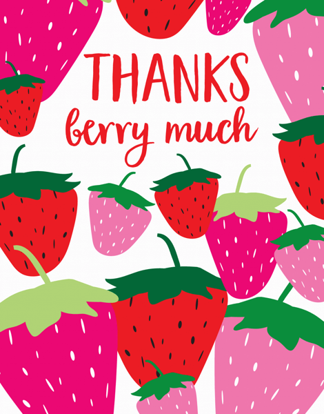 Thanks Berry Much