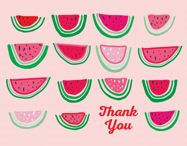 Watermelon Thank You