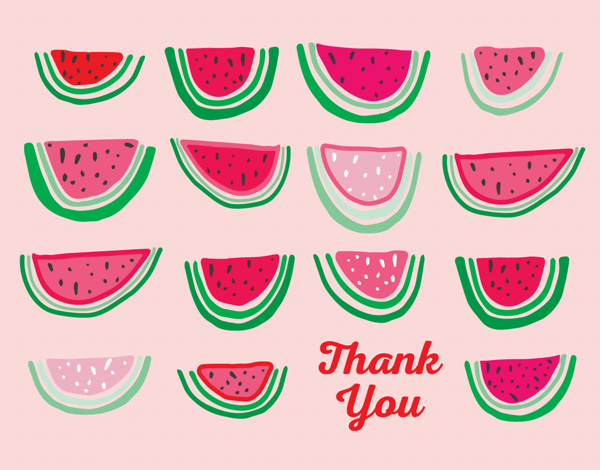 Watermelon Thank You