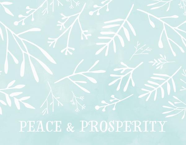 Peace And Prosperity