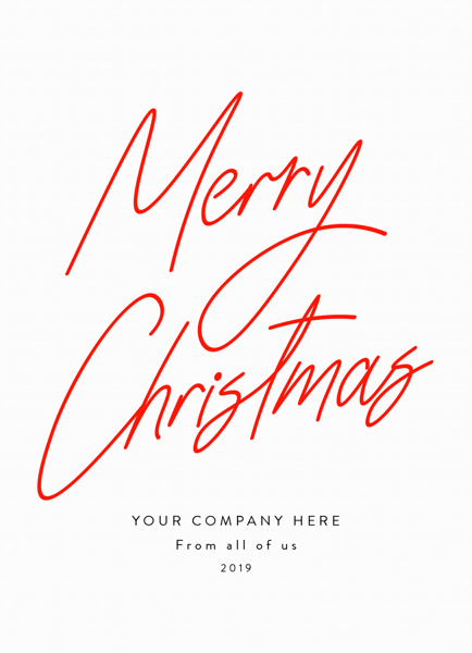 Simple Christmas Script