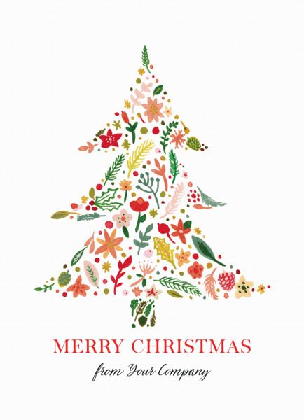Botanical Christmas Tree