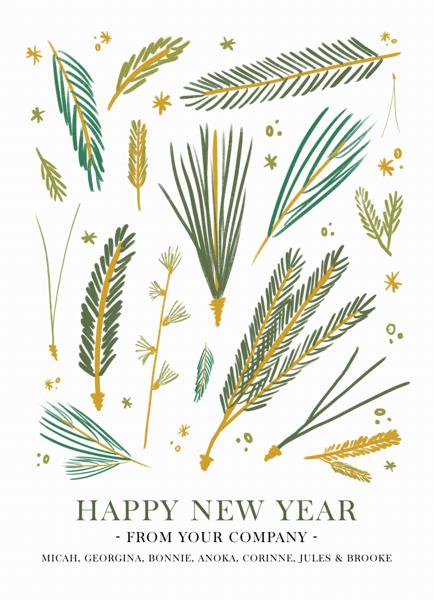 Pine Study New Year