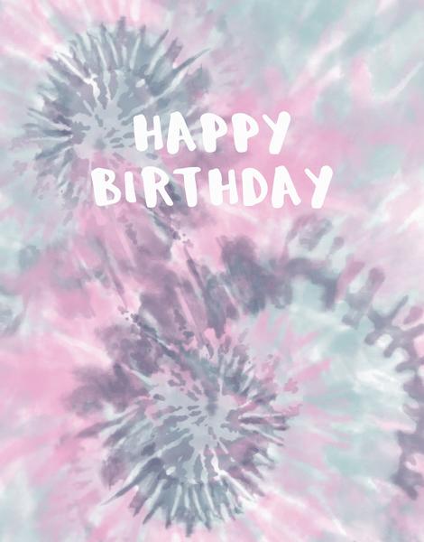 Tie Dye Birthday