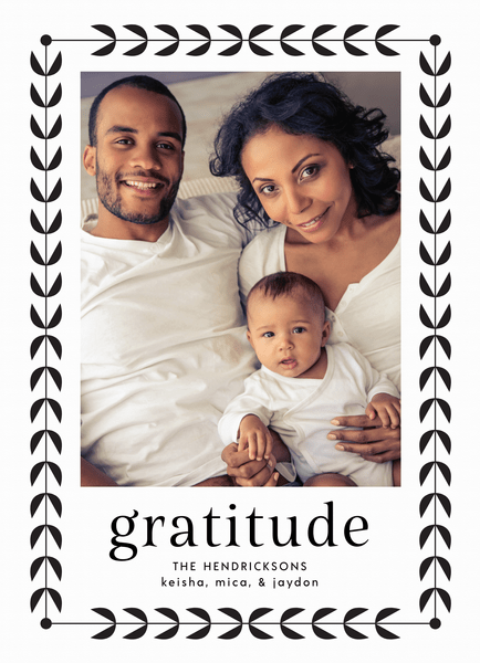 Gratitude Border