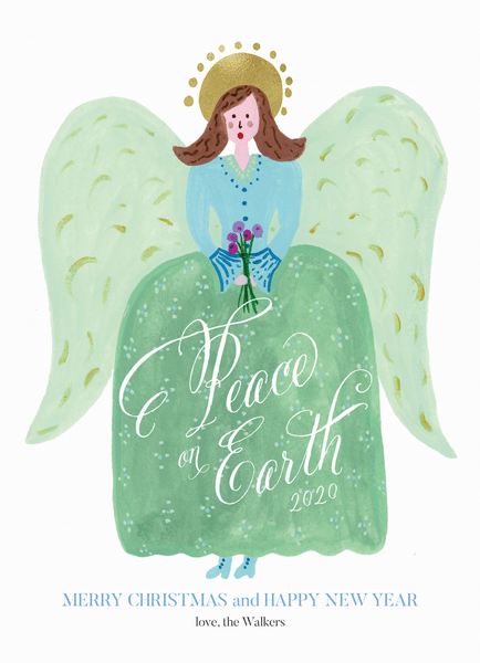 Painted Holiday Angel