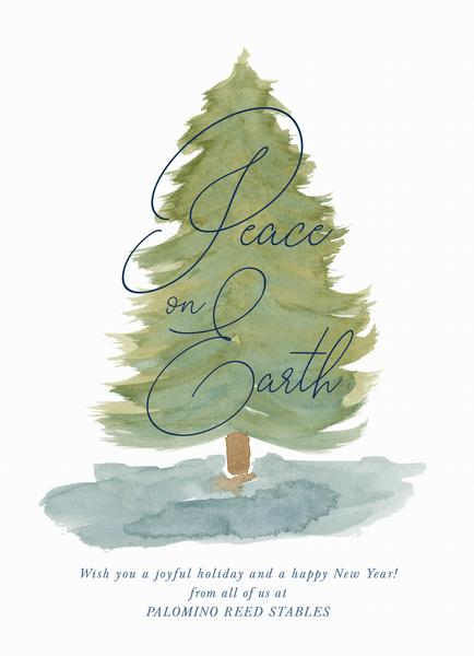 Peaceful Winter Tree