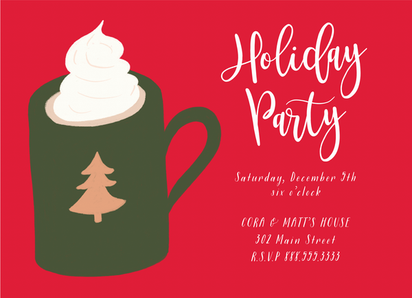 Hot Cocoa Invite