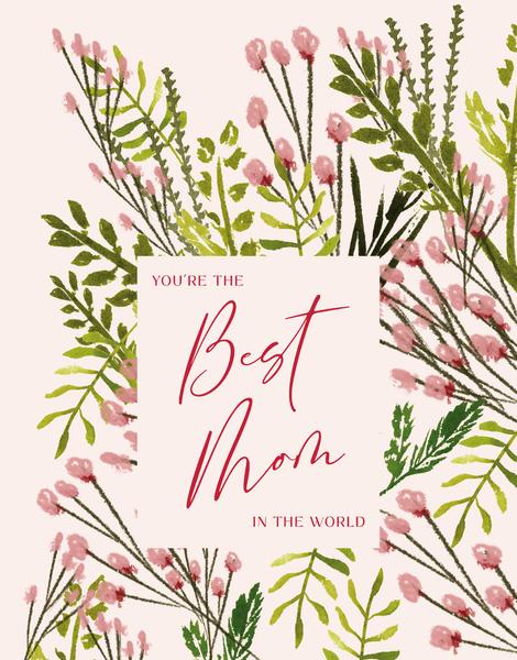 Best Mom Floral