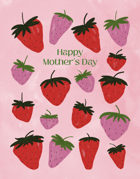 Mom Strawberries