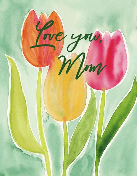 Mom Tulips