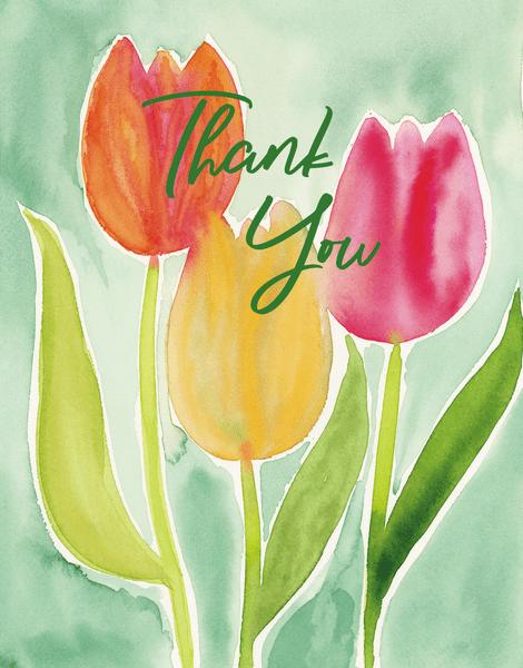 Thanks Tulips